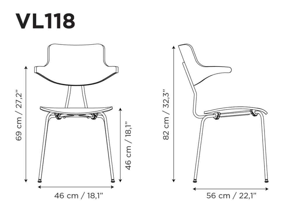 VL118-måltegning